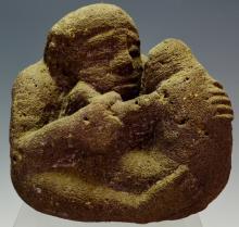 Nias Stone Figure