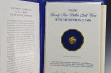 1983 British Virgin Islands $25 Gold Proof Coin