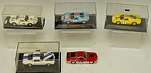 Ford GT40 Die Cast Grouping