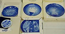 B&G; Royal Copenhagen Plate Grouping