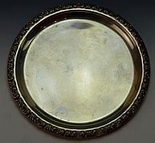 Sterling Silver Small Plate 3.33 ozt,