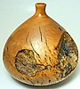 Large Vase, Carved from Rhododendron Tree Trunk
