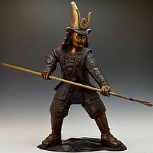 Earlier Samurai Warrior Statue