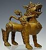 Ornate Decorative Brass Lion