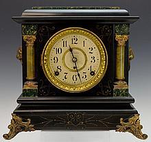 Seth Thomas Mantle Clock w/ Celluloid Columns