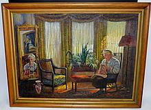 Augusta A. Heyder Oil on Canvas