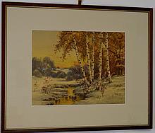 Charles Grant Davidson Watercolor
