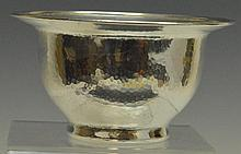 Shreve and Co. Sterling Hammered Bowl
