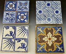 Minton  Ceramic Tile Grouping