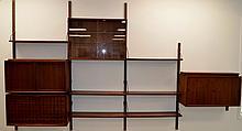 Poul Cadovius Mid Century Modular Wall Unit