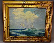 Tall Ship at Sea O/B