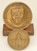 Johns Hopkins Bronze Medal Lot