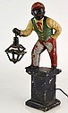 Painted Lawn Jockey Lamp