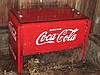 Early 3 1/2' Coca Cola chest type cooler