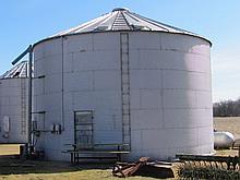 30' Grain bin