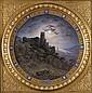 Bildplatte mit Ansicht von Heidelberg-Deutschland,