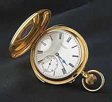 Le-Roy-&-Fils-Herren-Halbsavonette mit Minutenrepetition?London, 1901?Runde