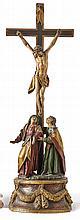 Wagner, Johann Peter oder Werkstatt - zugeschrieben?Kreuzigungsgruppe ?(Obe