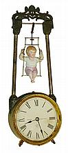Ansonia Clock Co., New York, Bobbing Doll Clock