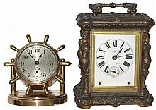 Clocks- 2 (Two): Chelsea Clock Co., Boston, for Abercrombie & Fitch,