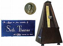 Clocks- 2 (Two) Seth Thomas, Thomaston, Conn., and Seth Thomas accessories: (1) Seth Thomas Clock Co.
