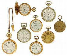 Pocket watches- 8 (Eight): 16 size Waltham