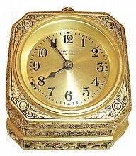 Chelsea, for Tiffany & Co., New York, desk clock in the