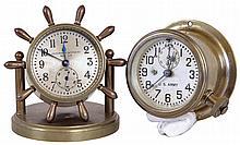 Clocks- 2 (Two): (1) Chelsea Clock Co., Boston, Mass.,