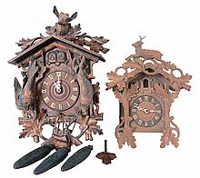 Clocks- 2 (Two) Cuckoo, Germany: ''AF