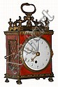 Swiss travelling alarm clock, similar to the