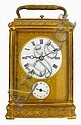 Henry Capt, Geneve, French carriage clock, in a