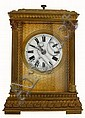 French carriage clock with petite sonnerie