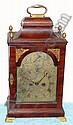 C.1790, English, George III Mahogany bracket clock