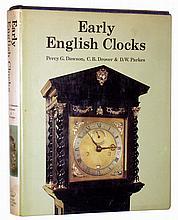 Books- 16 (sixteen) hardcover classics on English clocks, watches, sundials and barometers. Authors include Daniels, Symonds, Rees, Edwardes, Clutton, Cescinsky & Webster, Goodison, Dawson, Bromley, Britten, Gillgrass, Bolle, Ferguson, Bentley,
