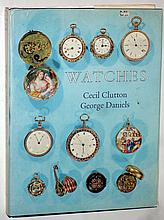 Books- 19 (Nineteen) hardcover classics on watch collecting and history, 20th century. Authors include Chapuis, Clutton & Daniels, Jacquet & Chapuis (2), Rees, Britten, Bruton, Smiths & Son, Baillie, Daniels, Benis, Cuss, Ullyett, Fried, deCarle,