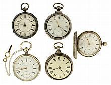Pocket watches- 5 (Five),