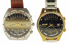 Wrist watches- 2 (Two), Orient 21 jewel automatic multi year calendar, Kasho 17 jewel multi year calendar