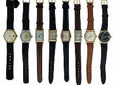 Wrist watches- 14 (Fourteen), including Benrus, Bulova, Longines, Waltham, Hampden, Hamilton, Elgin, and others
