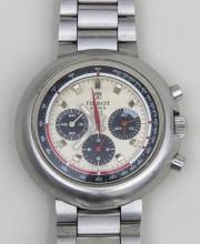 HAU Tissot T12 Chronograph Lemania/ Men's Watch, Schweiz, 1970