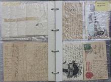Briefsammlung Privatpost ca. 1875-1910/ Private Letters