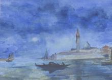 Unleserlich signierender Maler, Venedig/ View Of Venice, 20. Jh.