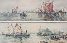 Thomas Bush Hardy (1842-1897), Paar Ansichten von Venedig/ Pair of Views of Venice