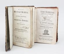 Kleine Weltgeschichte & Theologiae Dogmaticae, 1825 + 1784