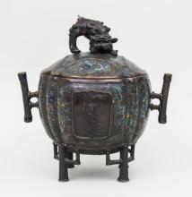 Koro/ Räuchergefäß, Japan, um 1900