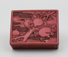 Lackdose/ Lacquered Box, Japan, Meiji-Periode