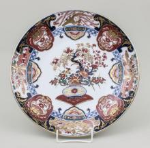 Große Imari-Platte/ Imari Plate, Japan, 1. Hälfte 20. Jh.
