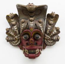 Naga Maske/ Wooden Mask, Bali, Indonesien