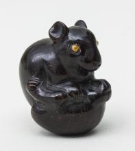 Netsuke 'Ratte in Schildkrötenpanzer'/ Rat In A Tortoiseshell, Japan, 19./20. Jh.