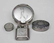 Lot 4 Silberteile/ Lot 4 Silver Items