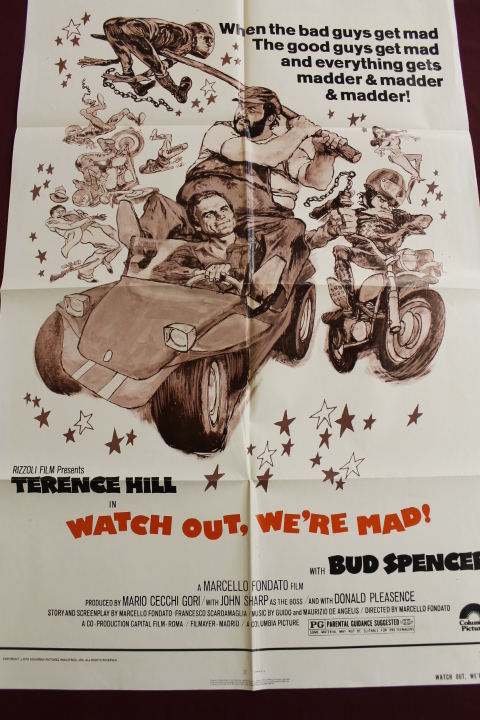 Poster - Watch Out, We're Mad - 27x41